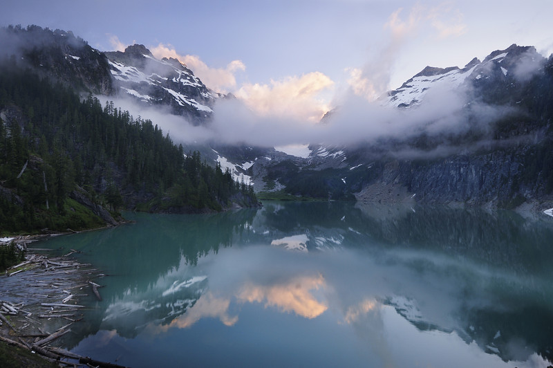 BLANCA LAKE SUNRISE