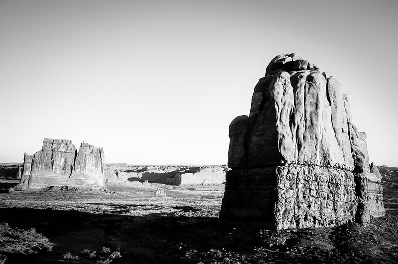 Arches National Park Dueling Monoliths