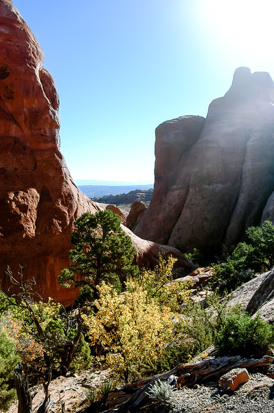 Arches Devil's Garden Red Rock Sunshine