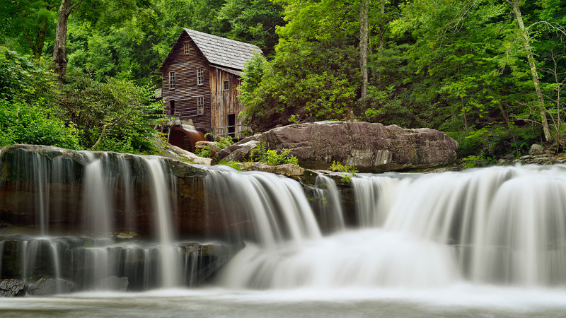 """The Old Grist Mill"" - West Virginia, Babcock State Park   Recommended Print sizes*:  4x8  