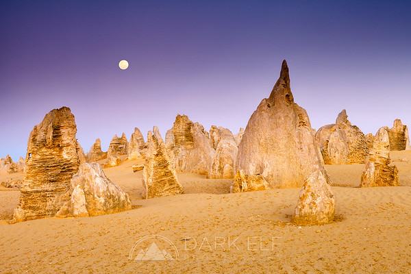 Moonrise Over Pinnacles