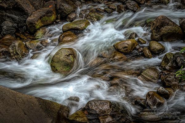 'Iao Stream - 'Iao Valley, Maui, Hawaii