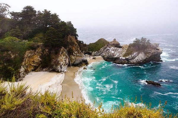 Cascade into the Ocean