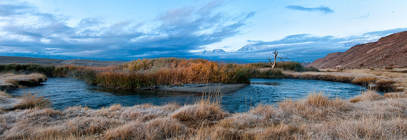 Owens River Valley<br /> <br /> Photo by Ron Bernstein 11/23/11 at 4:51:58 AM with a NIKON D3 set to ISO of 200, shutter speed of 1/6 at f/16.