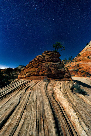 Stars over Pinon Rock