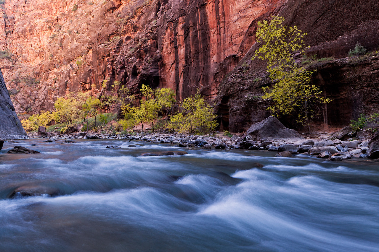 """Autumn in the Narrows"""