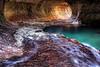 Zion National Park : Zion National Park is home to the incredible Subway, the Narrows, and incredible fall color along the Virgin River.