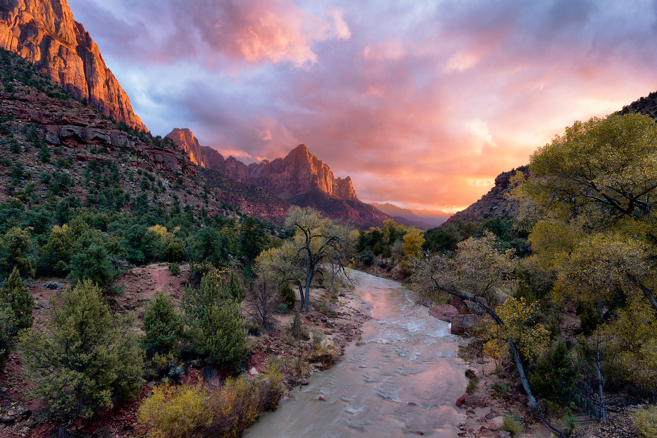 """Watchman Sunset"""