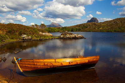 Lochan in Sutherland. Published in the Local Newspaper. John Chapman.