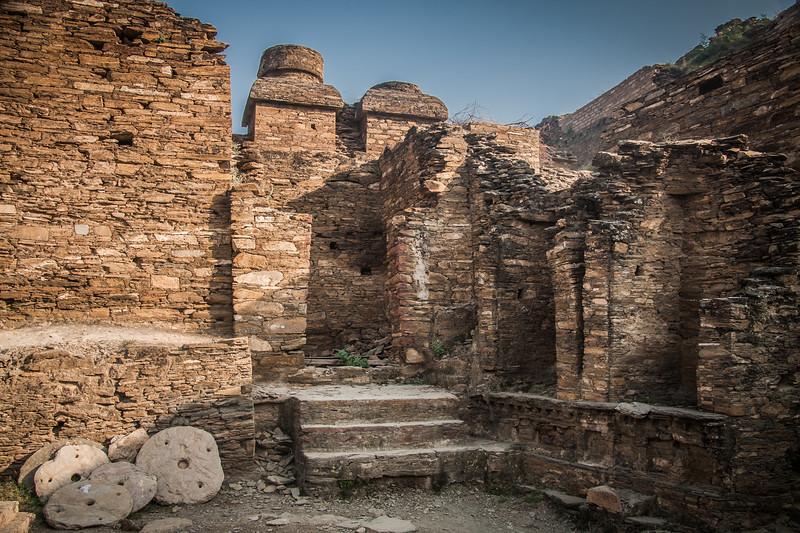 The ancient Takht-e-Bahi ruins, near Mardan
