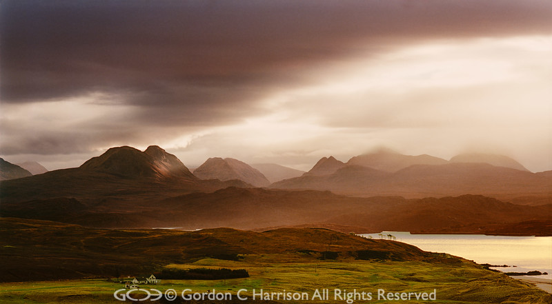 Photo 21: Dawn breaking over Loch Gairloch & the Torridons