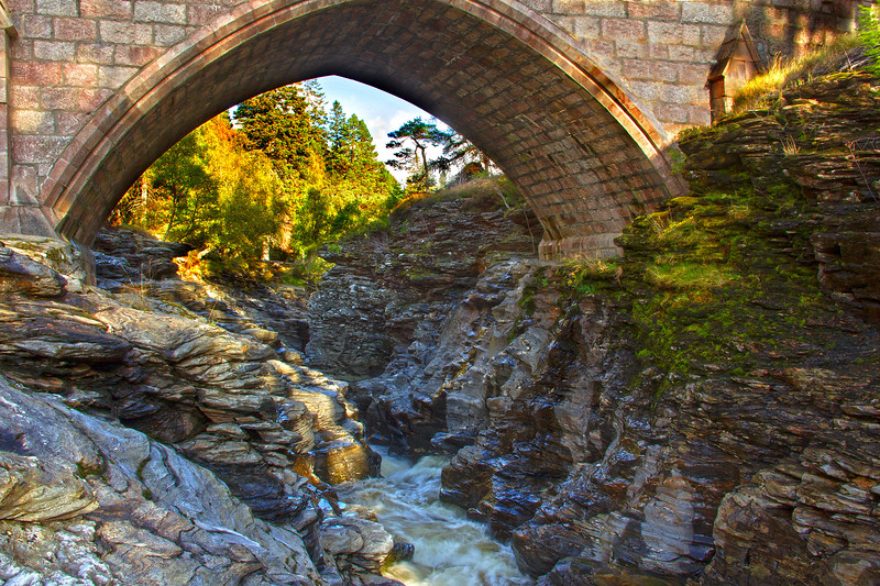 Bridge on Deeside. John Chapman.