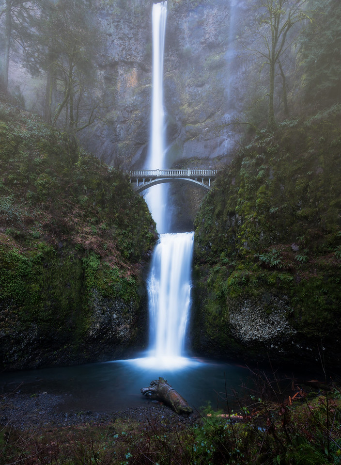 Multnomah Mists || Columbia River Gorge, OR