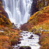 Waterfall near Lochinver. John Chapman.
