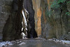 Upper Narrows<br /> <br /> Hiking between the narrow canyon walls of the Virgin River in Zion National Park.