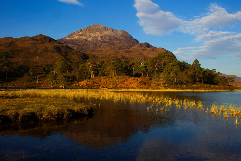 SGURR DUBH. Loch Clair. Torridon. Scotland. John Chapman.