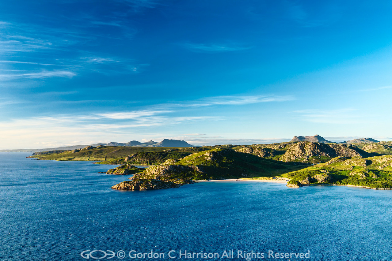 Photo 3225: Gruinard Bay and part of the beautiful North-west coast of Scotland