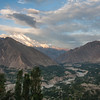 Hunza Valley with Rakaposhi