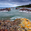 Jagged conglomerate formations along the Keweenaw 01
