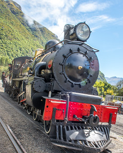 Kingston Flyer Vintage Steam Train, Queenstown, New Zealand