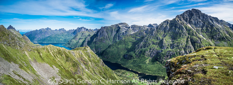 Photo 3334: Lofoten Island of Austavagoya, Norway