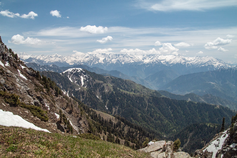 Most of these peaks are 14-15,000 ft.