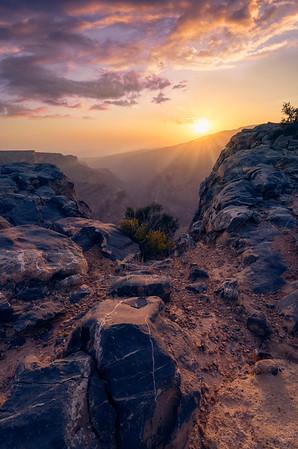 Jebel Akhdar Mountains, Oman