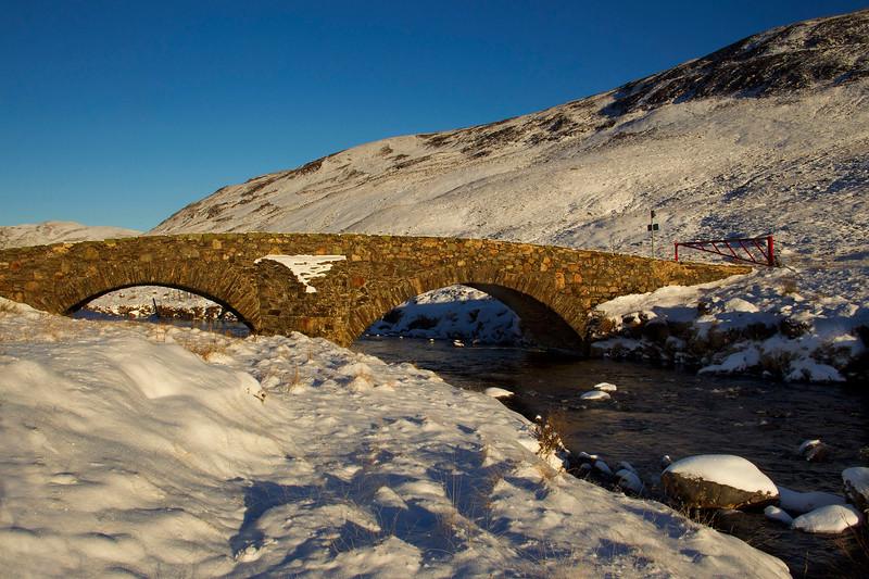 The Old Road bridge to Braemar. Aberdeenshire. John Chapman.