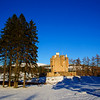 Braemar Castle. First of the Snow. John Chapman.