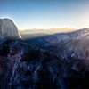 Daybreak on Half Dome