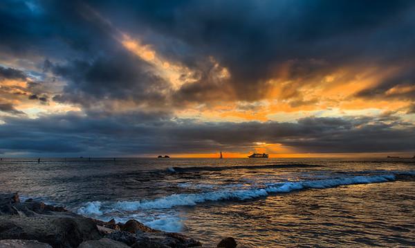 Sunset Cruise in Hawaii