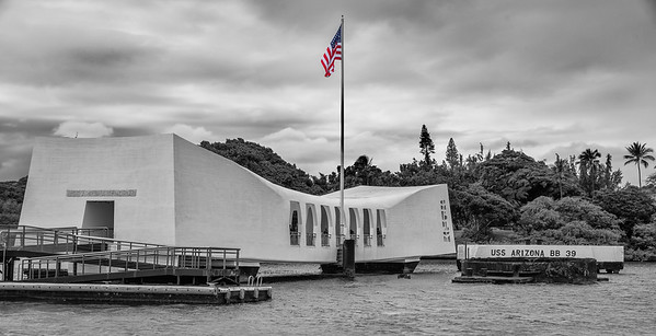 U.S.S. Arizona Memorial - Pearl Harbor - Honolulu, Hawaii