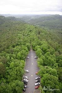 Parking Lot, Aerial View - Hot Springs, AR