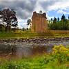 Abergeldy Castle. John Chapman.