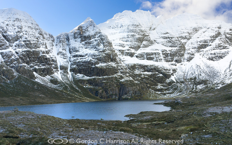 Photo 3209: An Teallach and Loch Toll an Lochain
