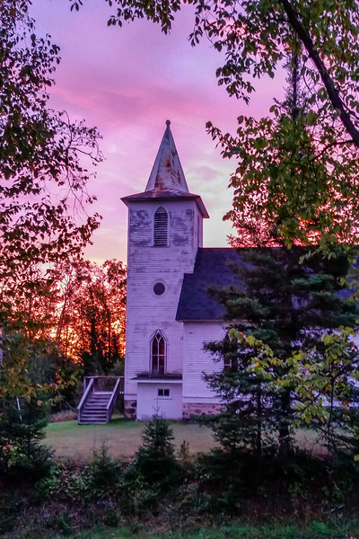 Beechwood Church at Sunrise 01