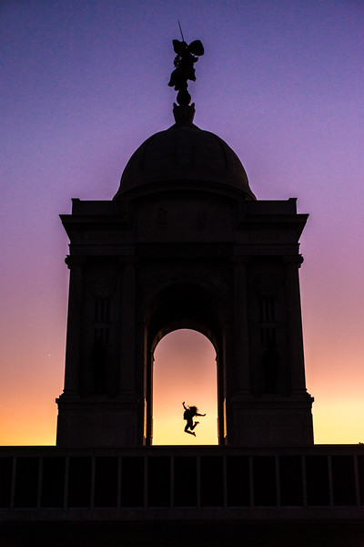 Pennsylvania Memorial Silhouette