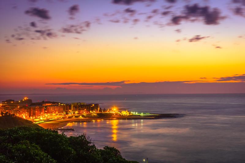 Newcastle Beach Sunrise