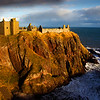 Dunnottar Castle by John Chapman. Published in the local Press.