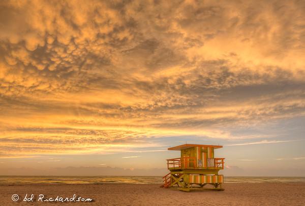 Sunrise in Miami