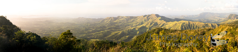 Fiji from the highlands
