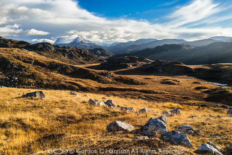 Photo 3230: En route to the abandoned village of Craigour