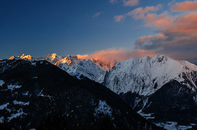Verbier Early Morning Light
