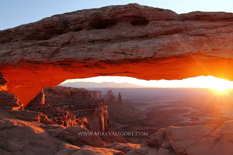 Mesa Arch<br /> Canyonlands National Park, Utah
