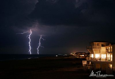Lightning at Night - Virginia Beach, VA