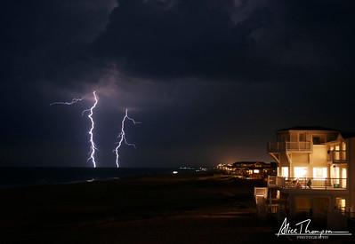 Lightning at Night - Virginia Beach, VA