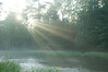 Streaks of Light on the Pere Marquette