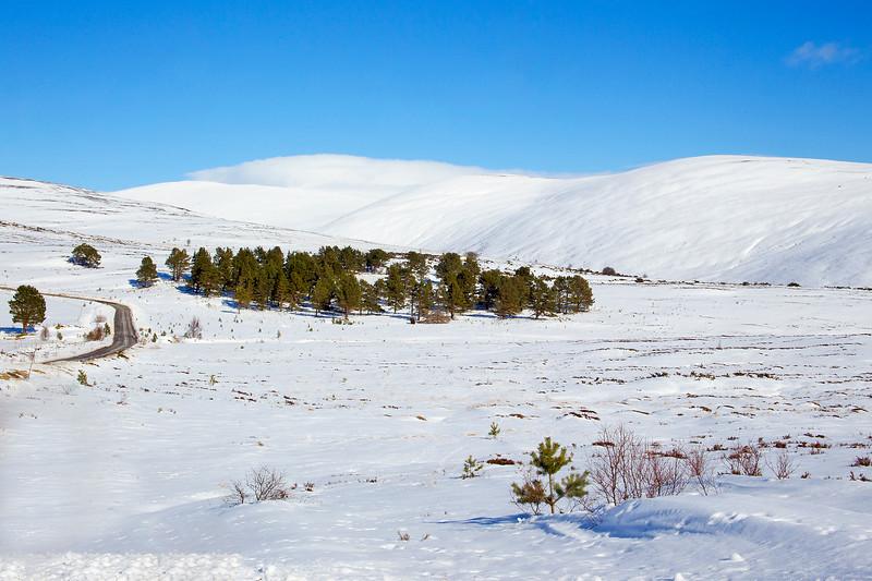 Pristine Snow at the Gairn. Aberdeenshire. John Chapman