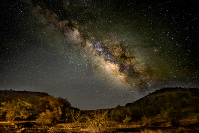 Milky Way from the Davis Mountains