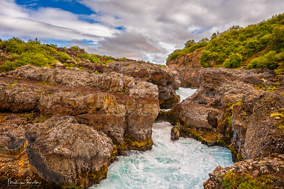 Barnafoss (Children's Falls), Iceland